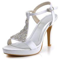 Open Toe Strap Sandals - Wedding look