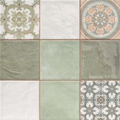 Mint Decor Tiles Jamilia Tiles 333x333x9mm Tiles