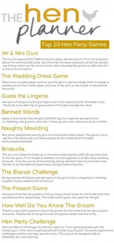 Top 10 Hen Party Games Unique Fun Hens Party Ideas Our top 10 hen party games will guarantee you fun and laughs at your hens party. No hen do is complete without a few unique ideas. Bachlorette Party, Bachelorette Party Games, Unique Bachelorette Party Ideas, Hen Games, Hen Party Games, Hen Do Party Bags, Hens Party Themes, Hen Party Presents, Hen Night Games