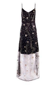 Boutique Lola Sequin Star Print Strappy Maxi Dressalternative image