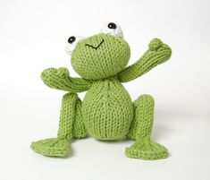 Why wait for Prince Charming to come along when you can knit your own Frog Prince! An easy to follow, delightful pattern for your very own Frog Prince. You'll want to knit him again and again! The pattern is 7 pages long and contains nearly 30 pictures to help you along the way. I have also included a little tutorial on how to make a bobble and how to gather a cast on seam if these techniques are not familiar to you. If you get stuck with the bobble or prefer to make him without thumbs th...
