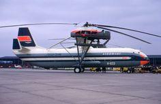 Mil first prototype - Aeroflot - Groningen Airport Eelde in Holland - 24 May 1971