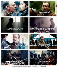 The Musketeers Character Tropes - Treville