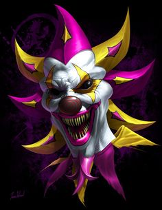 Death Pop – Tom Wood Fantasy Art Clown Images, Joker Images, Joker Pics, Joker Poster, Gruseliger Clown, Creepy Clown, Joker Hd Wallpaper, Joker Wallpapers, Art Du Joker