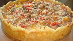 Открытый мясной пирог рецепт, как приготовить мясной пирог, выпечка с мясом рецепт, мясо в духовке, пирог мясной простой рецепт