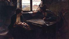 Ernesto de la Cárcova, Sin pan y sin trabajo (Without Bread or Work), 1894, oil on canvas, 125.5 x 216cm, Museo Nacional de Bellas Art...