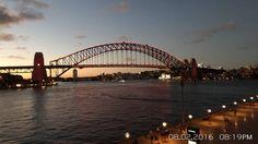 Sydney Harbour Bridge  #sydneyharbourbridge #sydney #sydneyharbour #australia #sunset #red #yearofthemonkey #lucky #luckyred #harbour #harbor #summer #operahouse #harbourbridge #water #sydneyharbour #sunsetsky #sydneyharbourbridge #ship #bridge #sunny #beautiful #tourist #touristwithacamera #view #perfect #ig_shotz_bridges #sydneysymphony #bennelong #lunarnewyear by silvia_lidia http://ift.tt/1NRMbNv