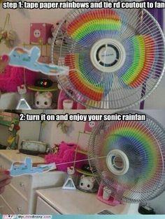 Rainbow little pony fan @Kristi Kuhnle
