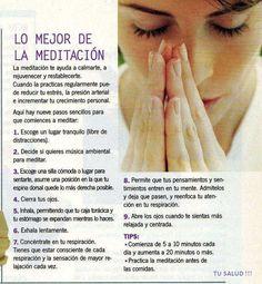 Algunos consejos para la #Meditación
