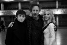 Craig Roberts, Tim Burton, and Winona Ryder---Here With Me Music Video