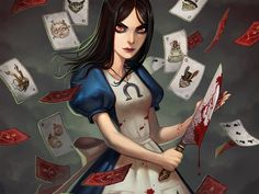 """Alice tweaked [AMerican McGee's Alice Returns]  Fan Art / Wallpaper / Games©2010-2012 ~osiris-gd  American Mcgees Alice Madness returns wallpapers with a slight tweak and no logos. Image is still copyright of perspective owners though"""" *wallpapers*"""
