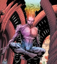 Legion - Real Name: David Charles Haller - Joined: Uncanny X-Men #254 (December, 1989)/Uncanny X-Men Annual #15 (August, 1991) -  X-Plained: Member of a new team that was briefly formed when the previous X-Men were believed killed.