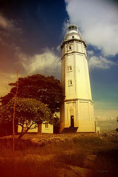 Bagacay Point Lighthouse, Cebu, Philippines