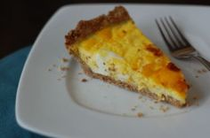 Quiche with Super Easy Whole Wheat Crust from 100 Days of Real Food