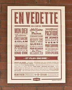 Retro Poster by Nicolas Ménard