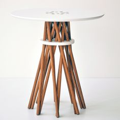 Simple Round Side Table | Round Side Table. Simple Boston Interiors Clooney Round ...