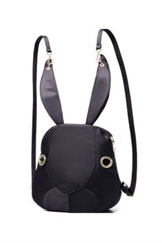 Cute Rabbit Backpack Outfits, Outfit Ideas, Outfit Accessories, Cute Accessories