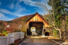 Covered Bridge / Woodstock, Vermont, USA