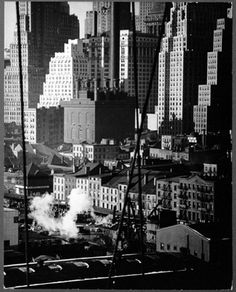 New York City - Downtown New York, 1942 - by Andreas Feininger