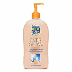 Ocean Potion Suncare Everglow Daily Moisturizer with Skin Darkener 20 fl oz 591 ml -- Details can be found by clicking on the image. Best Gradual Self Tanner, Best Self Tanner, Eyebrows, Eyeliner, Natural Self Tanners, Mascara, Travel Necessities, Fake Tan, Sun Care