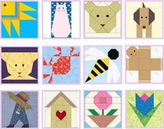 Aplicaciones patchwork bebes Baby Quilts, Kids Rugs, Home Decor, Patchwork Designs, Patchwork Patterns, Birthday Hats, Fabrics, Applique Templates, Baby Changer