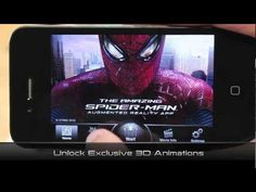 The Amazing Spider-Man Augmented Reality App   http://www.cerebrodigital.org