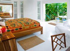88 simple tropical caribbean bedroom decor ideas (8)
