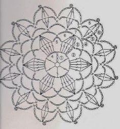 Crochet irlandês &: Entre os elementos.