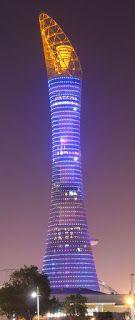 Лучшие инженерные сооружения: Aspire Tower— здание высотой 300 метров, располож...