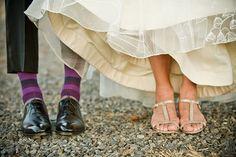 t wedding, shoe shot  bretcole.com