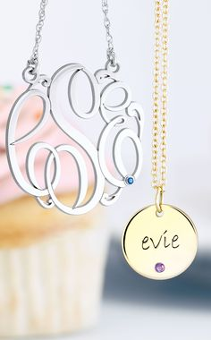Personalized jewelry makes sweet gifts for Valentine's Day! Click through to shop!
