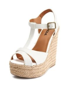 Perfect summer wedges!
