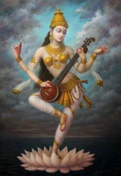 Vidya Vinayam Dadatu - Real knowledge brings humility in you! That is grace of Goddess of Knowledge- Goddess Saraswati