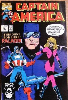 Captain America  #381 JANUARY 1991 Marvel Comics
