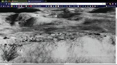 Community or base at top of Copernicus Crater. Needs burn and dodge tool for details. NASA didn't know we were going to have photoshop in the 60's.