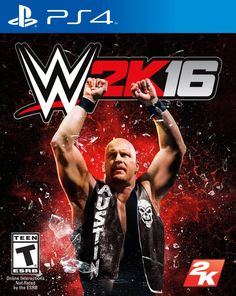 """confirmed the cover Superstar for WWE will be """"Stone Cold"""" Steve Austin, a WWE Hall of Fame Superstar and squared circle pioneer who helped usher in the WWE Attitude Era. Steve Austin, Austin Wwe, Xbox 360, Buy Playstation, Wrestling Games, Wrestling Videos, Wrestling News, 2k Games, Xbox One Games"""
