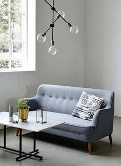 Quest Straight sofa - / L 161 cm by House Doctor