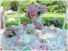 monthly tea parties