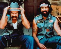 Cheech and Chong. To call them comedians is just wrong. They were the kings of riotous laughter, sex, drugs, & rock & roll. I still have their albums.