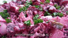 Mijnlevenalsmama | Rode bietensalade