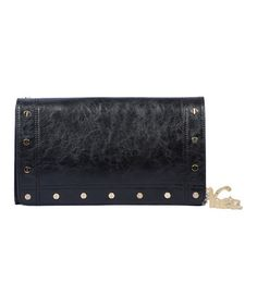 Take a look at this Black Cass Clutch by Vieta on #zulily today!