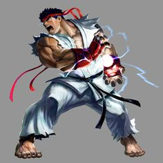 Tribute to Street Fighter: 55 Beautiful Artworks Ryu Street Fighter, Capcom Street Fighter, Super Street Fighter, Comic Art, Cr7 Messi, Character Art, Character Design, Samurai, Street Fighter Characters