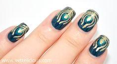Peacock  #nail #nails #nailart