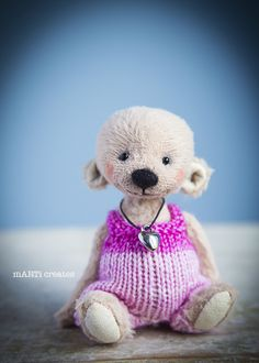 #marticreates #teddybears #künstlerbär