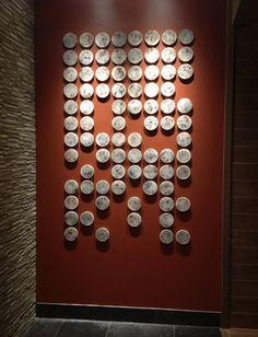 this is the website for james aarons, ceramic artist. Diy Wall Art, Diy Art, Wall Sculptures, Sculpture Art, Chinese Artwork, Abstract City, Diy Living Room Decor, Wall Installation, China Art