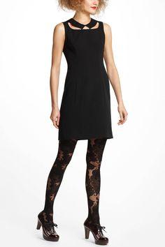 Cutout Collar Dress - Anthropologie.com
