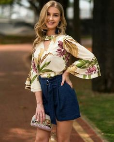Summer Outfits, Casual Outfits, Summer Blouses, Blouse Styles, Couture, Sleeve Styles, Fashion Forward, Plus Size, Clothes For Women