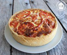 Hello les gourmands ! Aujourd'hui je vous parle de la dernière recette faite pour le pique-nique... la tarte ! Depuis janvier, je suis vache...