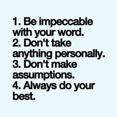This book, The Four Agreements, changed my life. Imagine living this way beautif. This book, The F Happy Quotes, Me Quotes, Motivational Quotes, Inspirational Quotes, Work Quotes, Quotes To Live By, Cool Words, Wise Words, Positiv Quotes