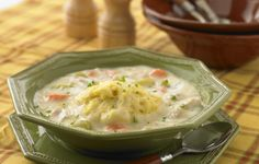 Chicken And Dumplings - A steaming bowl of creamy chicken and dumplings is a comforting one-dish meal. All you need is a spoon—and your appetite!
